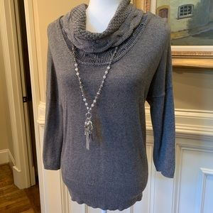 LOFT Gray Sweater